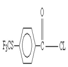 对三氟甲硫基苯甲酰氯