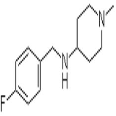 4-(4-氟苄基氨基)-1-甲基哌 啶
