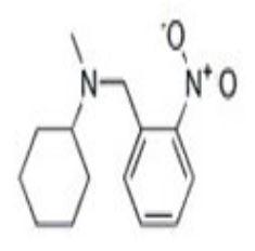 N-(2-硝基苄)–N-甲基环己胺