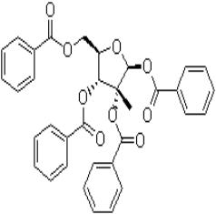 1,2,3,5-四苯甲酰氧基-2-C-甲基-β-D-呋喃核糖