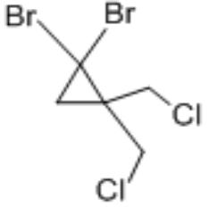 1,1-二溴-2,2-二氯甲基環丙烷