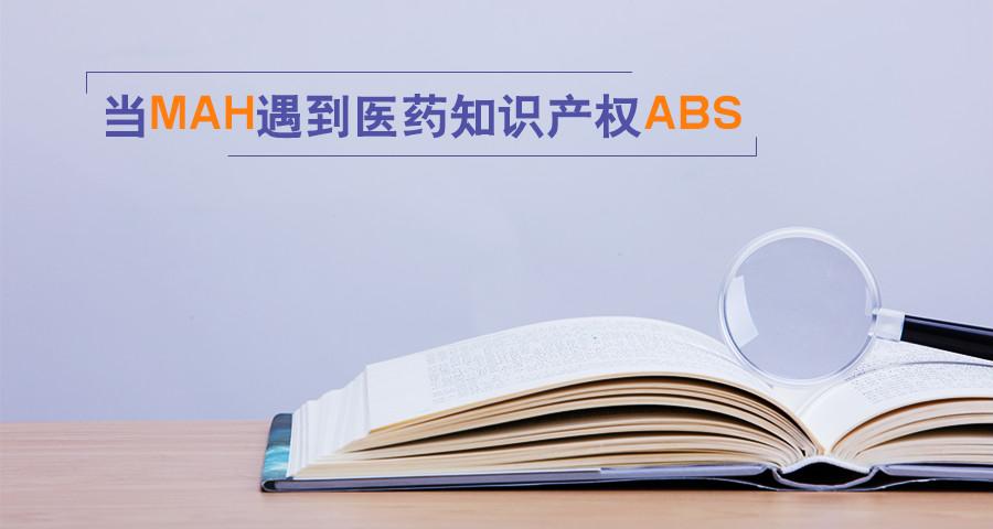 战略前瞻 | 当MAH遇到医药知识产权ABS