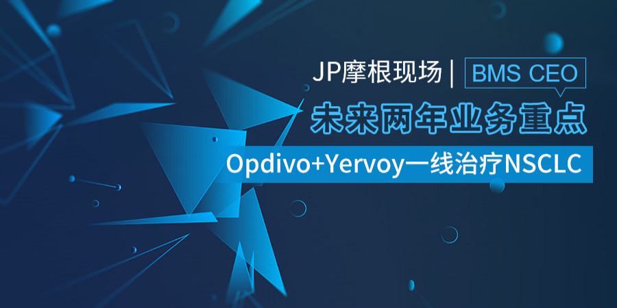 Opdivo+Yervoy一线治疗NSCLC是BMS未来2年业务重点