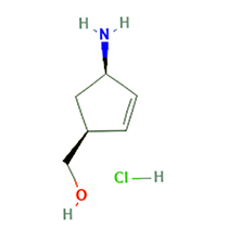 (1S,4R)-(4-氨基环戊-2-烯基)甲醇盐酸盐