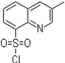 3-甲基-8-喹啉磺酰氯