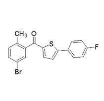 2-(5-溴-2-甲基苯甲酰基)-5-(4-氟苯基)噻吩