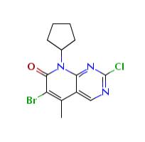 6-溴-2-氯-8-环戊基-5-甲基-吡啶并[2,3-D]嘧啶-7(8H)-酮