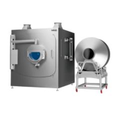 High-efficiency coating machine tablet tipping feeder