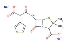 替卡西林二钠 青霉素类