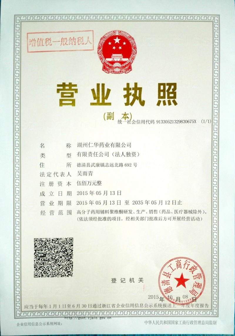 DRUG MANUFACTURING LICENSE