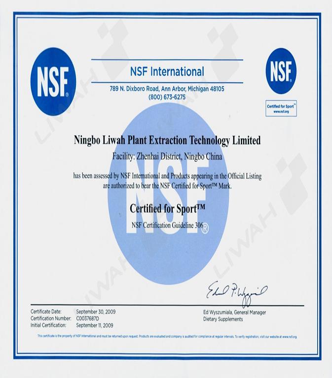 NSF-GMP(sport)