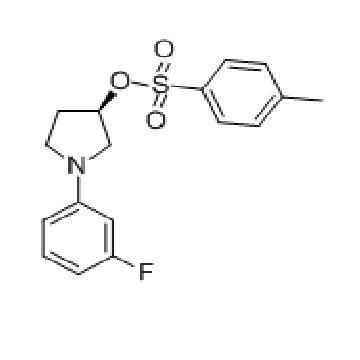 马波沙星  3-Pyrrolidinol, 1-(3-fluorophenyl)-, 3-(4-methylbenzenesulfonate), (3R)-