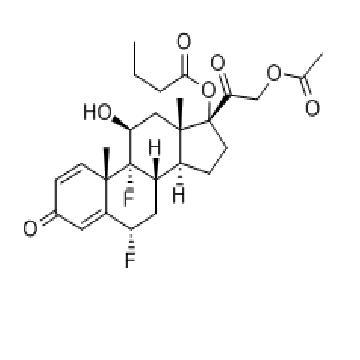 二氟孕甾丁酯  Difluprednate