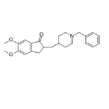1-苄基-4-[(5,6-二甲氧基茚满酮-2-基)甲基]哌啶  2-[(1-Benzyl-4-piperidyl)methyl]-5,6-dimethoxy-2,3-dihydroinden-1-on