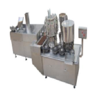 DTK口服液洗瓶烘干灌装轧盖生产联动线
