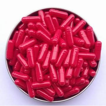 2# 红/红 罗赛洛明胶空心硬胶囊