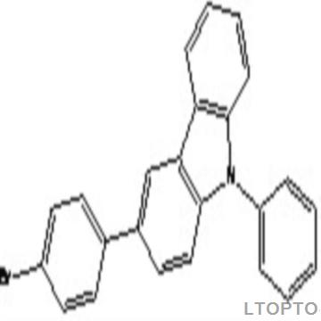 3-(4-bromophenyl)-N-phenylcarbazole3-(4-溴苯基)-9-苯基咔唑