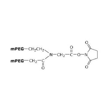 支链聚乙二醇衍生物