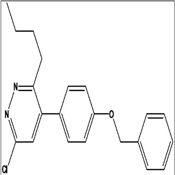 4 - (4 - (苄氧基)苯基)-3 - 丁基-6 - 氯哒嗪