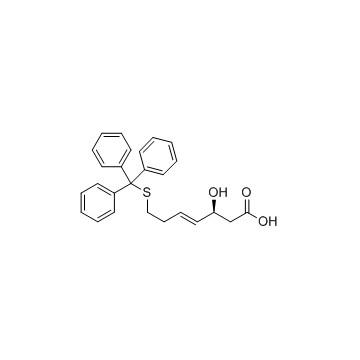 (3S,4E)-3-羟基-7-[(三苯基甲基)硫基]-4-庚烯酸