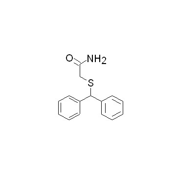 2-[(二苯基甲基)硫基]乙酰胺