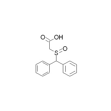 2-[(二苯基甲基)硫酰基]乙酸