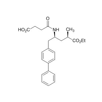 4-(((2S,4R)-1-([1,1'-biphenyl]-4-yl)-5-ethoxy-4-methyl-5-oxopentan-2-yl)amino)-4-oxobutanoic acid