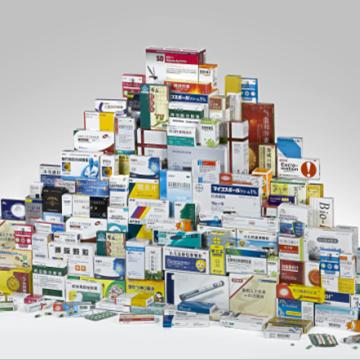 医药包装折叠纸盒