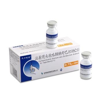 达力哌坦 注射用头孢哌酮钠/舒巴坦钠(2:1)
