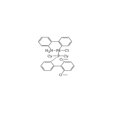 氯(2-二环己基膦基-2',6'-二甲氧基-1,1'-联苯基)(2'-氨基-1,1'-联苯-2-基)钯(II)