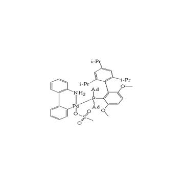 甲磺酸-2-(二-1-金刚烷基膦基)-3,6-二甲氧基-2',4',6'-三异丙基-1,1'-联苯(2-氨基-1,1'-联苯-2-基)钯(II)