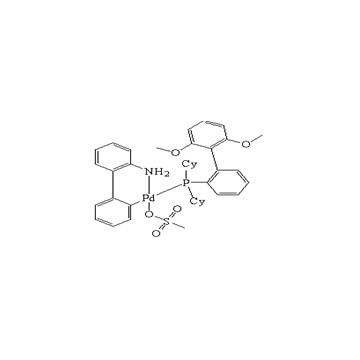 甲烷磺酸(2-二环己基膦基-2',6'-二甲氧基-1,1'-联苯基)(2'-氨基-1,1'-联苯-2-基)钯(II)