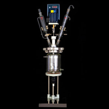 2L双层玻璃反应釜