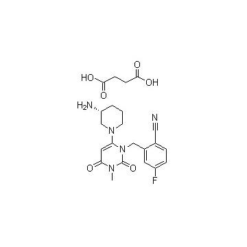 琥珀酸盐曲格列汀