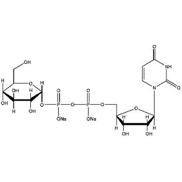 二磷酸尿苷葡萄糖二钠分子式