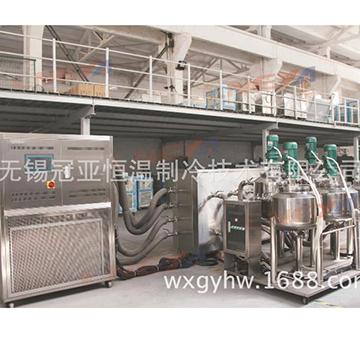 冠亚生产ZLF-25多台反应釜制冷加热集成温控系统-45~ 200度