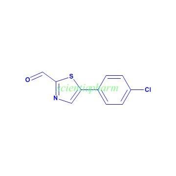 唑-5-甲醛分子式