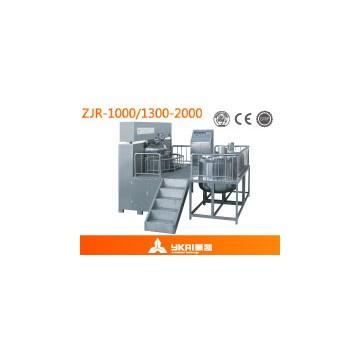 真空均质乳化机(液压升降型)ZJR-1000/1300/2000