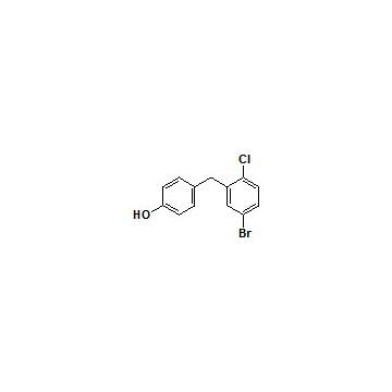 4-(5-溴-2-氯苄基)苯酚