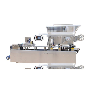 DPB-250HL封闭型平板式自动泡罩包装机