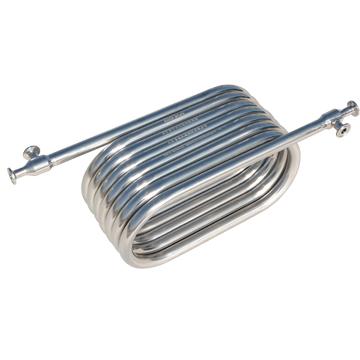 盘管套管式无菌级热交换器