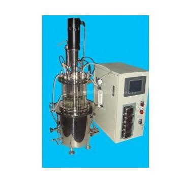 机械搅拌原位自动灭菌玻璃发酵罐