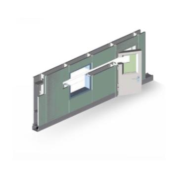 MAX-CR-A 50系列夹芯金属隔墙系列