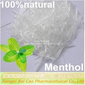原料厂家大量供应药用辅料符合CP标准 天然薄荷脑 99.9% L-薄荷醇