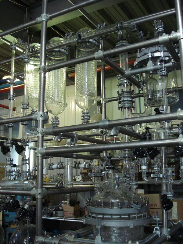 反应蒸发、蒸馏设备
