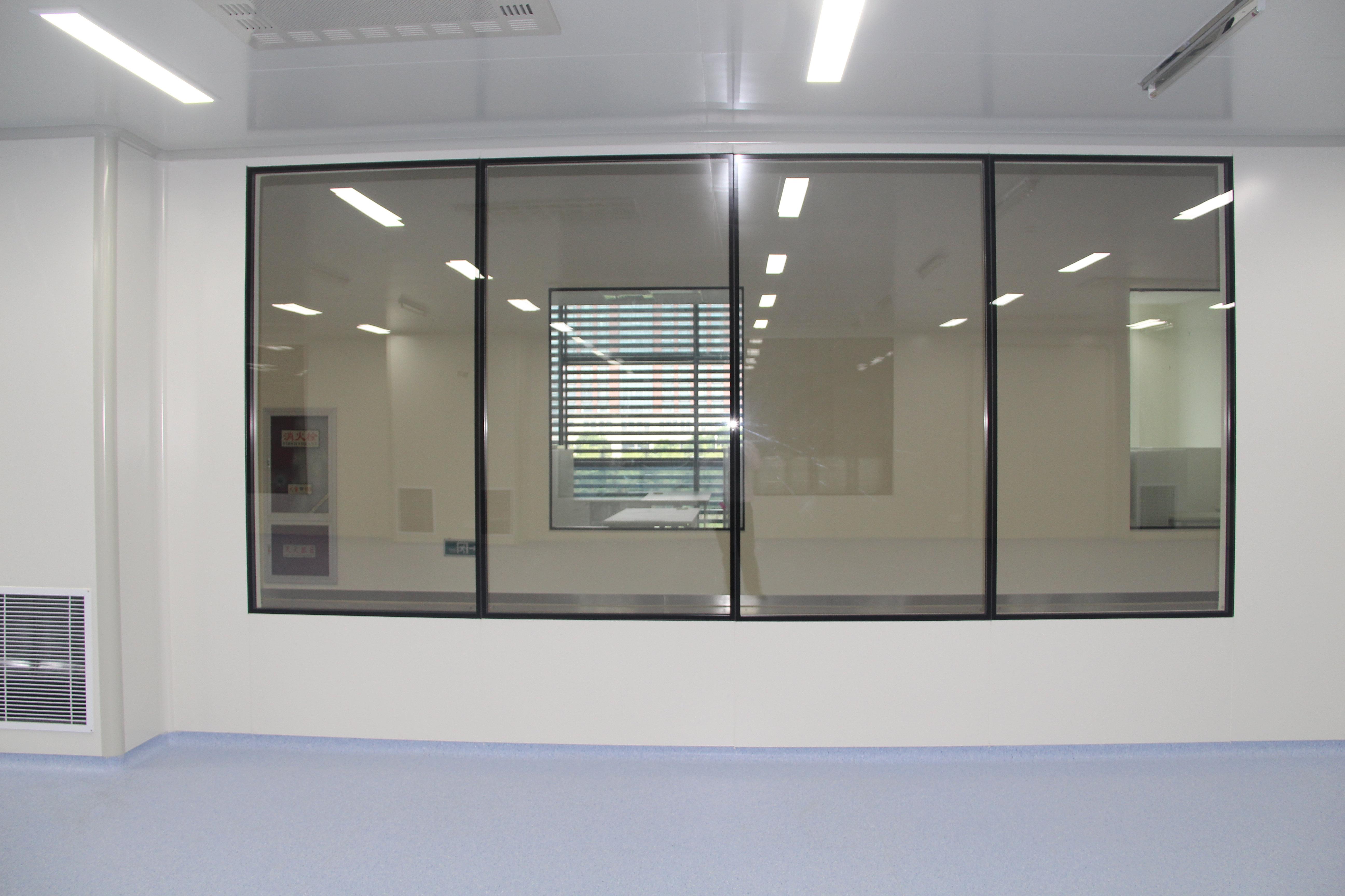 洁净室双层固定窗