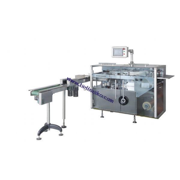 DTS-400全自动透明三维膜包装机