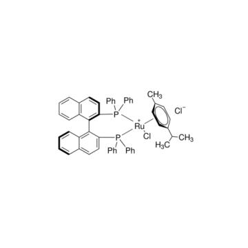 氯[(R)-(+)-2,2'-双(二苯基膦)-1,1'-联萘](伞花烃)氯化钌(II)