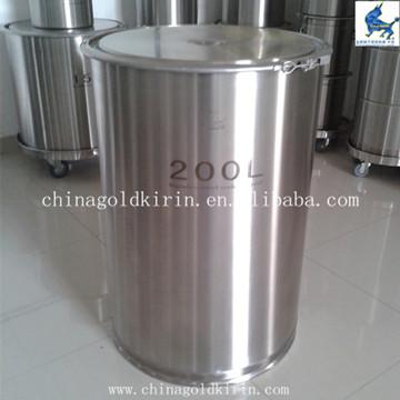 304,316L卫生级开口不锈钢密封桶