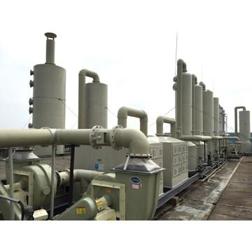 PPH缠绕环保废气处理
